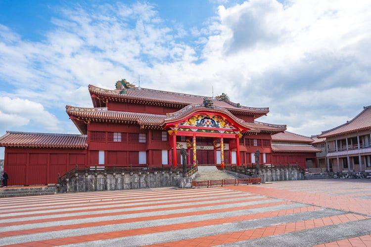 琉球王国首里城