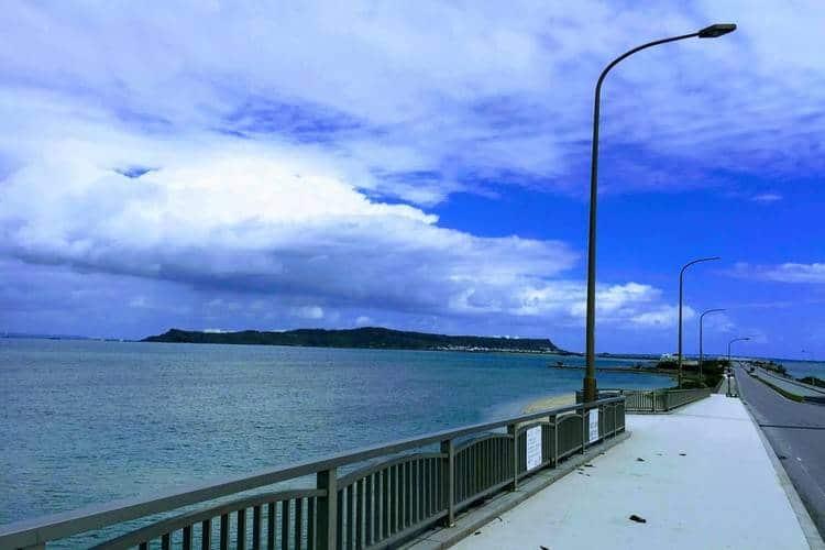 沖縄の海中道路