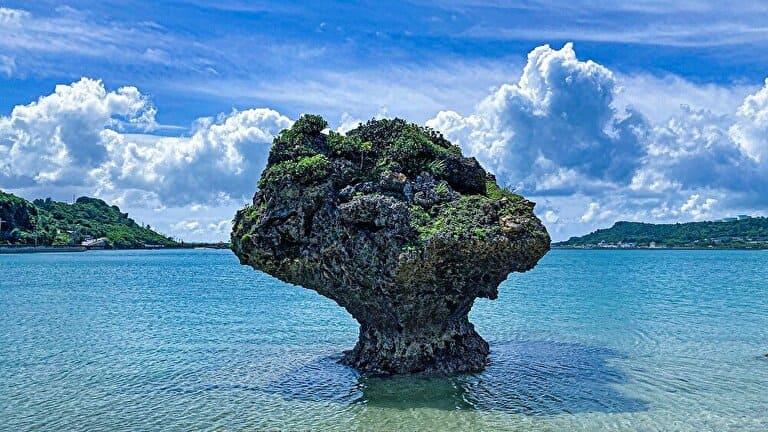 沖縄の海とパワースポット