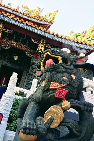 横浜関帝廟の狛犬