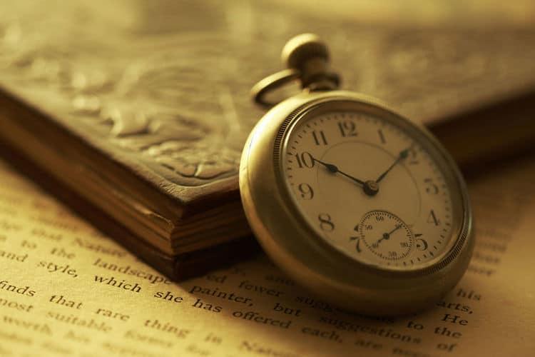 懐中時計と前世療法