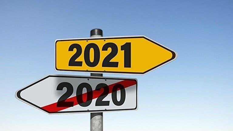 2021年の看板